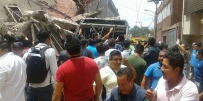 Un terremoto de 7.1 grados en la escala de Richter sacudió México: hay al menos dos muertos