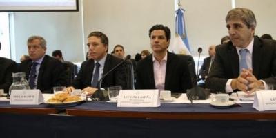 Nicolás Dujovne y Luis Caputo defendieron el Presupuesto en Diputados y se cruzaron con Axel Kicillof