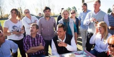"""Sergio Massa de campaña: """"Representamos a la clase media que no puede llegar a fin de mes"""""""