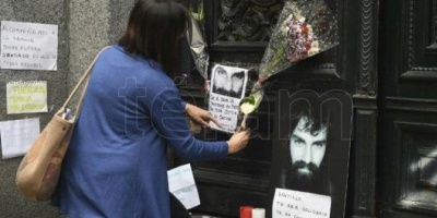 El cuerpo encontrado en Chubut es el de Santiago Maldonado