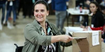 """Tras votar, Michetti destacó que la jornada electoral """"se está desarrollando bien"""""""