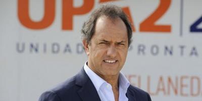 Citaron a indagatoria a Scioli por irregularidades en obras públicas