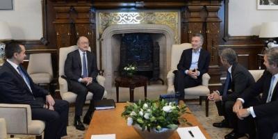Macri recibió en la Casa Rosada al titular del Banco Mundial, Jim Yong Kim