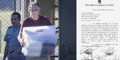 La Corte, por unanimidad, ordenó abrir una investigación sobre cómo se liberó a Cristóbal López