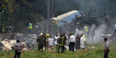 Se estrelló un avión tras despegar del aeropuerto de La Habana