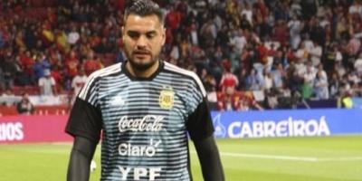 """Alerta Selección: Sergio """"Chiquito"""" Romero se lesionó una rodilla y se perderá el Mundial"""