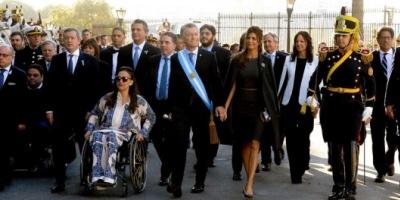 """El Gobierno celebró el tono """"moderado"""" del discurso del arzobispo Mario Poli en el Tedeum"""