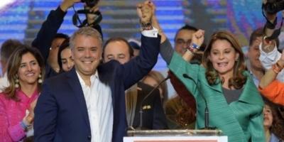 Iván Duque se impuso en segunda vuelta por amplia diferencia y es el nuevo presidente de Colombia