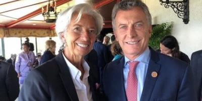 La directora del Fondo Monetario llegará a la Argentina para participar de las reuniones del G-20