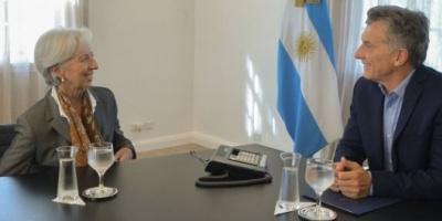 Mauricio Macri y Christine Lagarde cenarán este viernes en la Quinta de Olivos