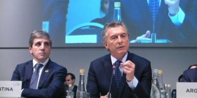 """Macri cerró la reunión de Finanzas del G20: """"La comunidad internacional nos ha dado un fuerte respaldo"""""""