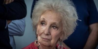 Un dirigente de Cambiemos denunció a Estela de Carlotto en el INADI por discriminación