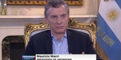 """Mauricio Macri: """"Muchos dicen que no me conviene que Cristina Kirchner vaya presa"""""""