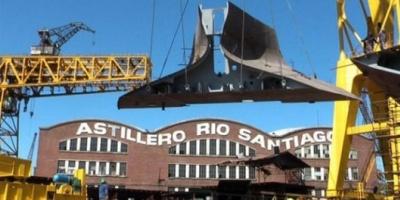 Los gremialistas del astillero Río Santiago que tomaron Economía hace 10 años que no construyen un barco