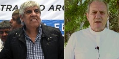 Guiño de la Iglesia a Hugo Moyano en medio del enfrentamiento del sindicalista con el Gobierno