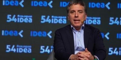 """Dujovne: """"Espero que las proyecciones del FMI sobre la Argentina no tengan razón"""""""