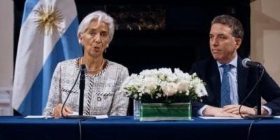 El FMI desembolsará USD 13.400 millones en noviembre