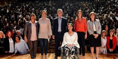 Mauricio Macri lanzará el viernes un plan de paridad de género enfocado en los tres poderes del Estado