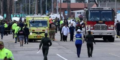 Atentado en escuela de Policía en Bogotá: al menos diez muertos y más de 60 heridos