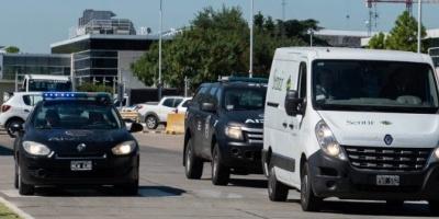 Los restos de Emiliano Sala llegaron a la Argentina y ahora son trasladados a Santa Fe