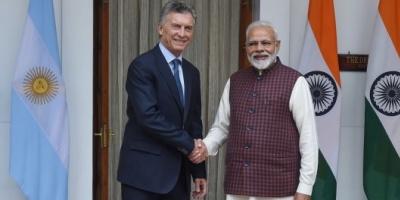 """Mauricio Macri cerró un ambicioso acuerdo con India: """"Es un paso significativo para aprovechar grandes oportunidades"""""""