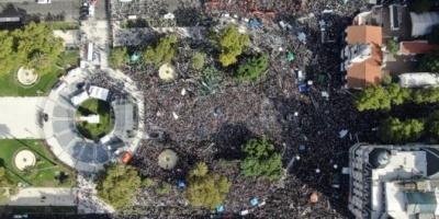 Día de la Memoria: una multitud marchó a 43 años del último golpe de Estado