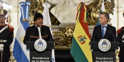 Mauricio Macri y Evo Morales decidieron relanzar las relaciones de Argentina y Bolivia pese a las fuertes diferencias