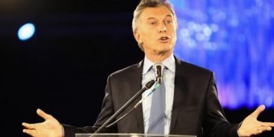 """Mauricio Macri: """"El riesgo país sube porque en el mundo hay miedo de que los argentinos quieran volver atrás"""""""