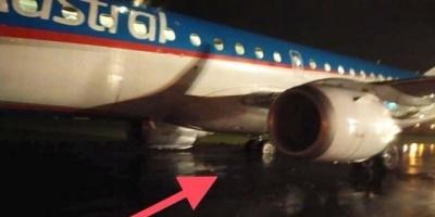 Se despistó un avión de Austral en el aeropuerto de Resistencia