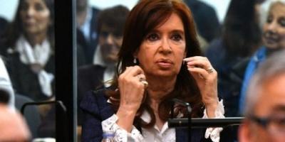 Autorizaron a Cristina Kirchner a no asistir a las audiencias del juicio en su contra