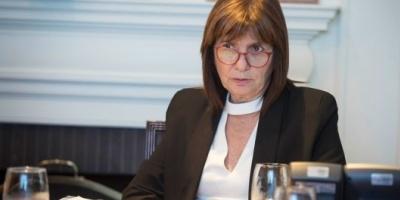 """Patricia Bullrich: """"A los policías que se comportan como ladrones y asesinos, se los trata como ladrones y asesinos"""""""