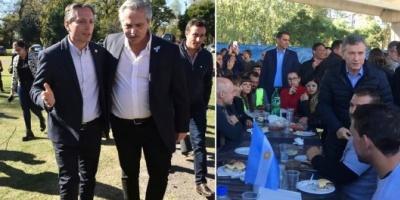Campaña electoral: guerra de asados entre Mauricio Macri y Alberto Fernández