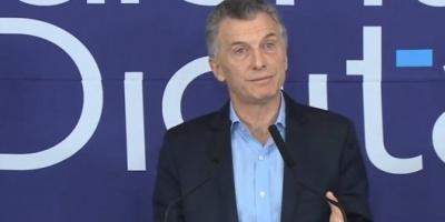 """""""A fin de año Internet va a tener una velocidad de 20 megabytes"""", anunció Macri"""