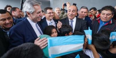 """""""Quiero ser el presidente que una a todos los argentinos"""", dijo Alberto Fernández en Tucumán"""