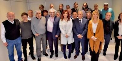 Alberto Fernández se reúne con la CGT y lleva su promesa contra una reforma laboral