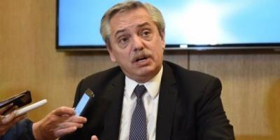 """Alberto Fernández criticó la eliminación del IVA, dijo que será """"una ganancia adicional para las empresas"""""""