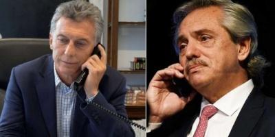El presidente Macri habló otra vez con Alberto Fernández por la inestabilidad económica