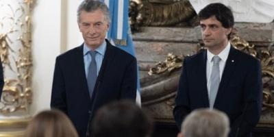 """Lacunza asumió y dijo que su objetivo es """"la estabilidad del tipo de cambio"""""""