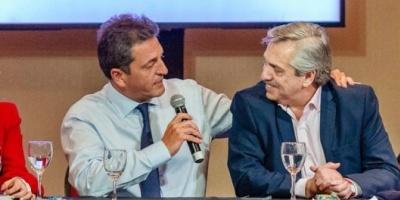 """Alberto Fernández: """"La unidad sin Sergio Massa no hubiera sido unidad"""""""