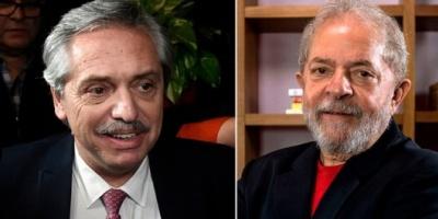 Alberto Fernández y Cristina Kirchner pidieron la libertad de Lula tras cumplir 500 días preso