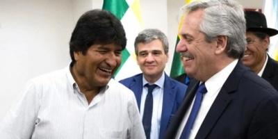 Alberto Fernández profundizó en Bolivia su relación política con Evo Morales