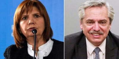"""Duro cruce entre Alberto Fernández y Patricia Bullrich por la """"ley mentira"""""""