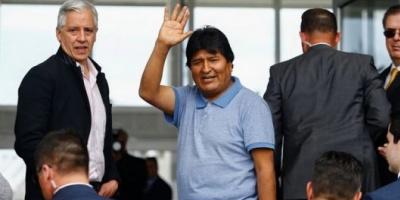 """""""México me salvó la vida"""", afirmó Evo Morales en el inicio de su asilo político"""