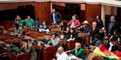 Bolivia: buscan alcanzar el quórum para que sesione la Asamblea Legislativa a pesar del cerco al Congreso