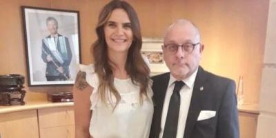 En medio de la crisis regional, el canciller Jorge Faurie se reunió con Amalia Granata