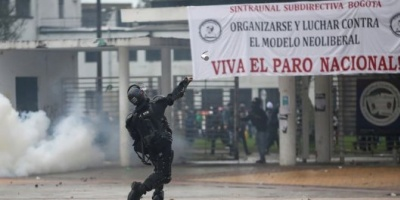 Huelga nacional en Colombia: hay fuertes disturbios en Bogotá y habrá toque de queda en Cali