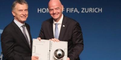 Malestar en el fútbol argentino por la designación de Macri como presidente ejecutivo de la Fundación FIFA