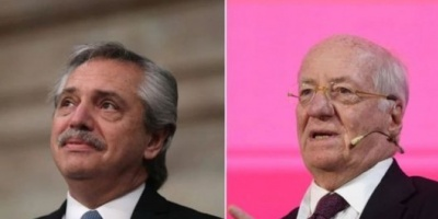 """Alberto Fernández, contra Paolo Rocca: """"Hermano, esta vez colaborá"""""""