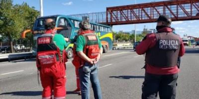 Coronavirus en la Argentina: detuvieron a un micro con 62 pasajeros que vino desde Jujuy