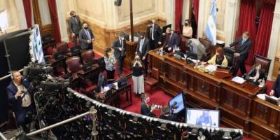 Sin la oposición, el Senado Nacional aprobó la validez de diez DNU de Fernández y rechazó dos de Macri